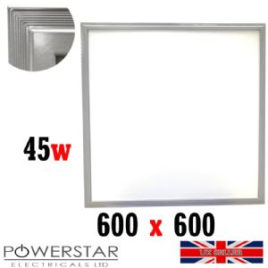 600x600mm 45W LED Ceiling Panels Lights 6000k by Powerstarelectricals.co.uk